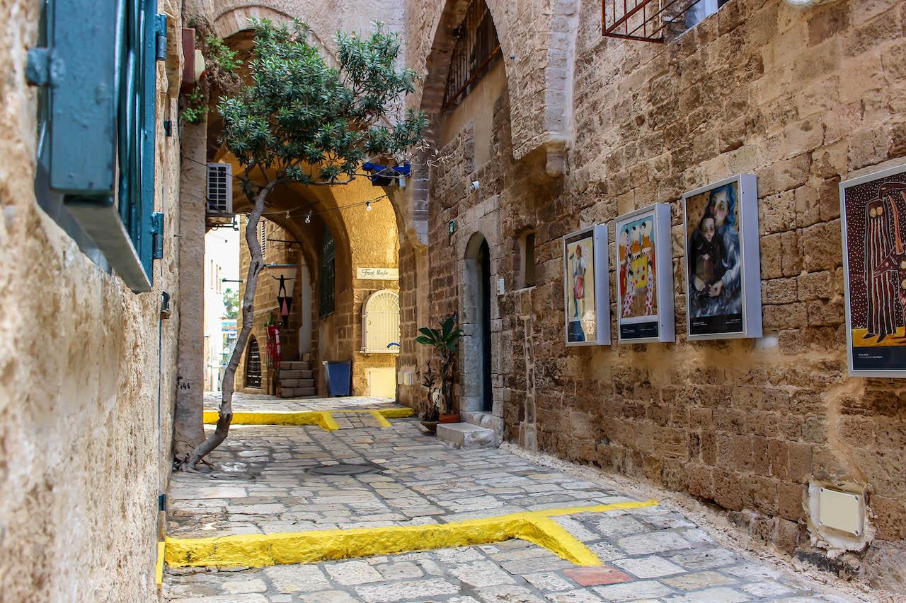 In Jaffa, Israel.