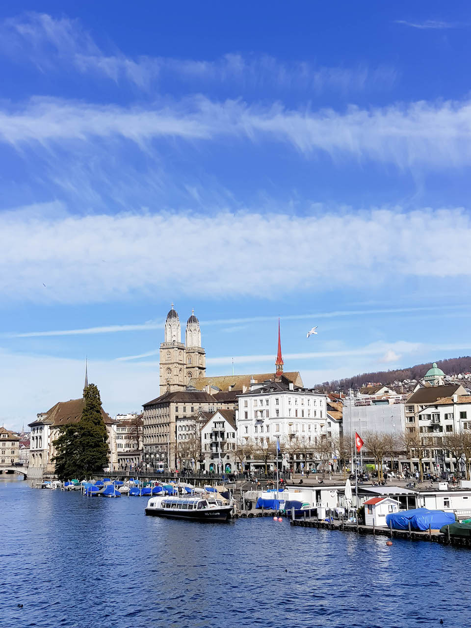 Zürich im März.
