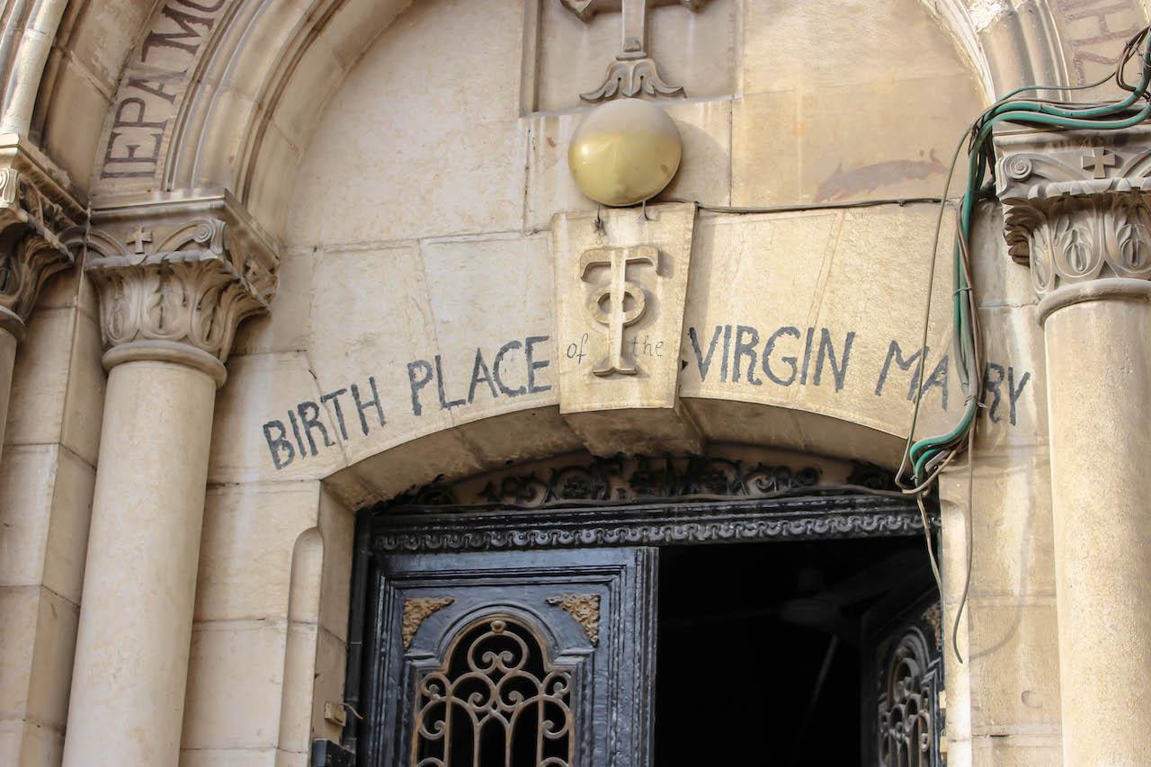 Der Geburtsort von Maria.
