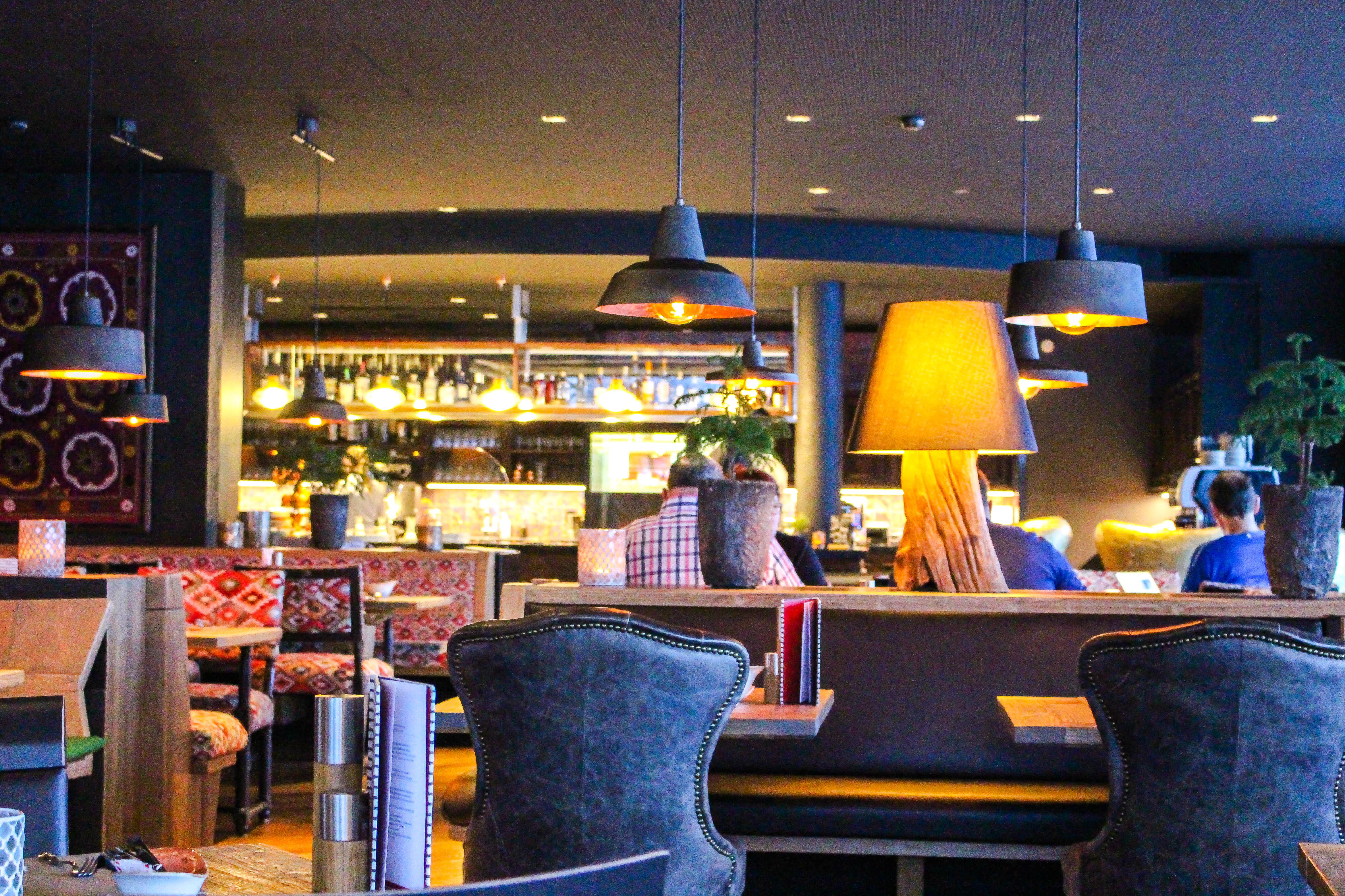 Das Restaurant Twist im Hotel Valsana.