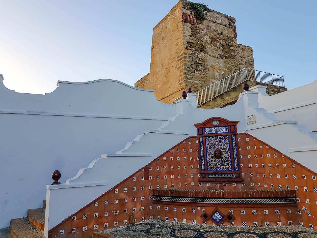 Maurische Treppe in Tarifa.