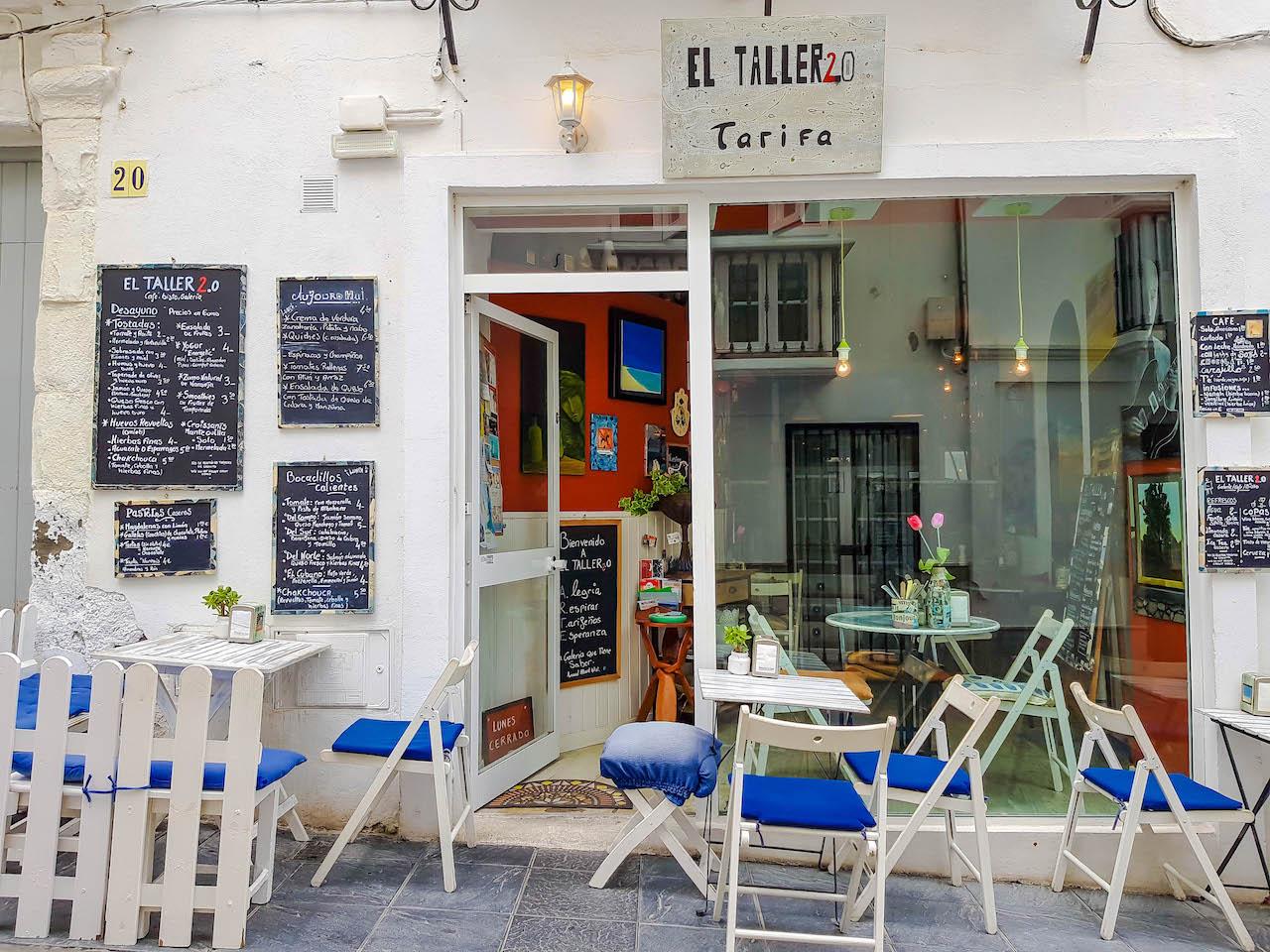 Café in Tarifa.