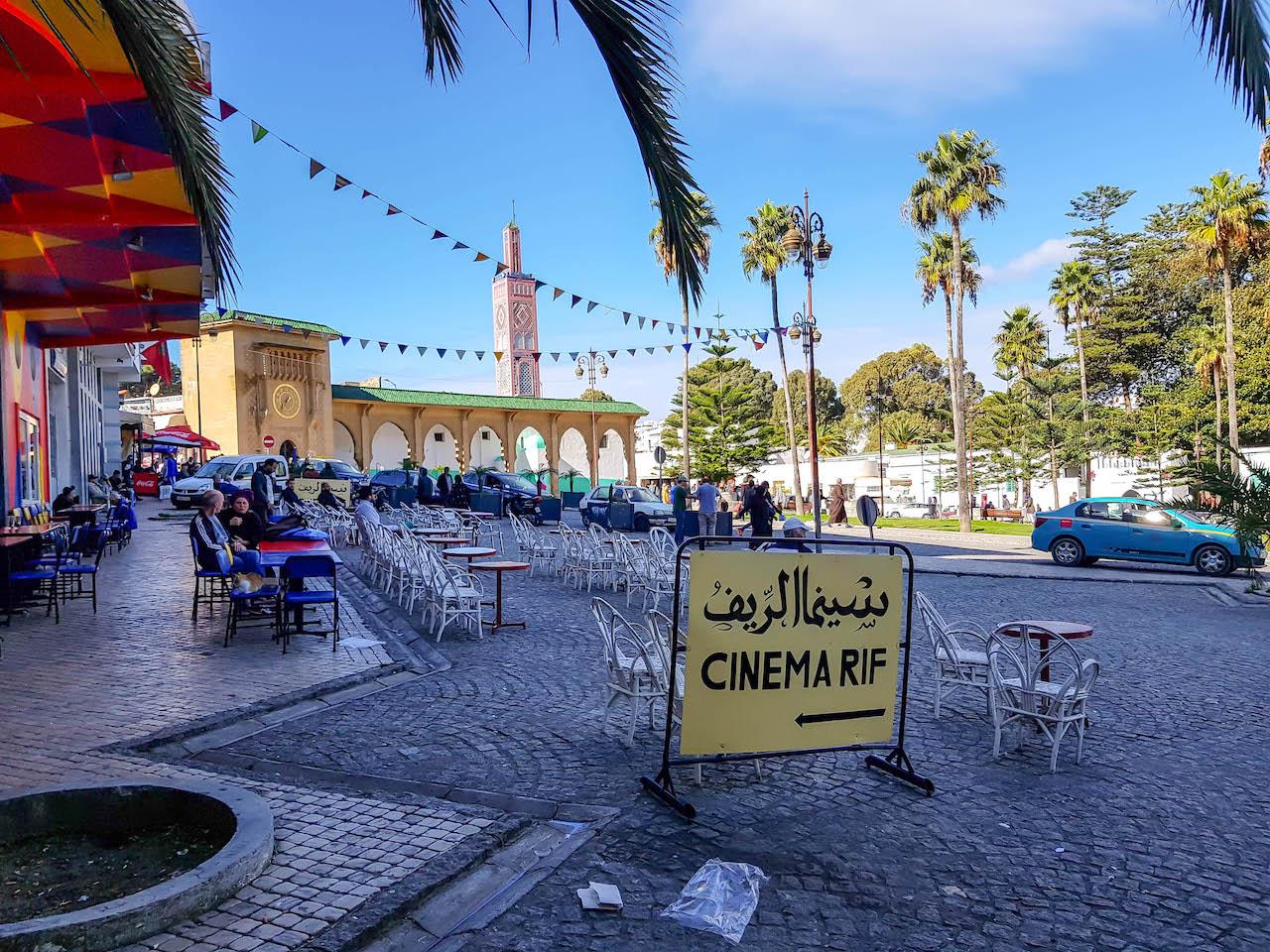 Platz in Tanger.