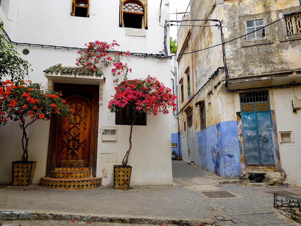 Malerisches Viertel in Tanger.