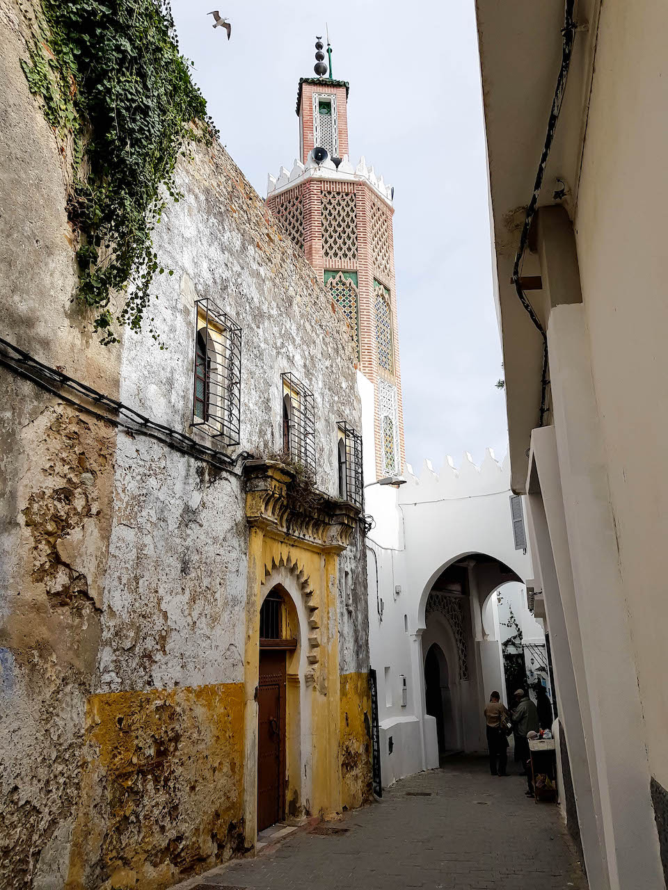 Moschee im Kasbah Viertel in Tanger.