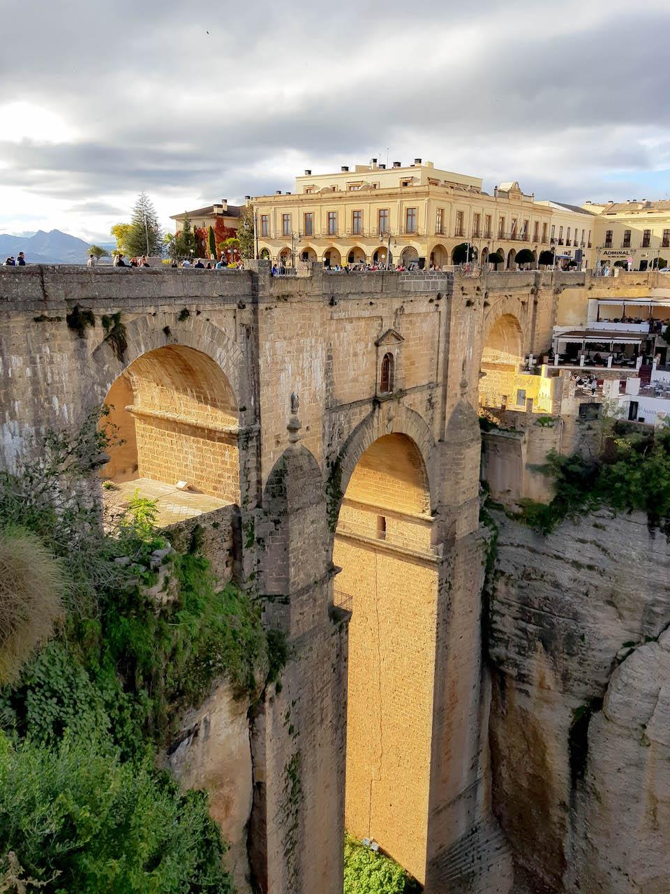 Die Brücke von Ronda.