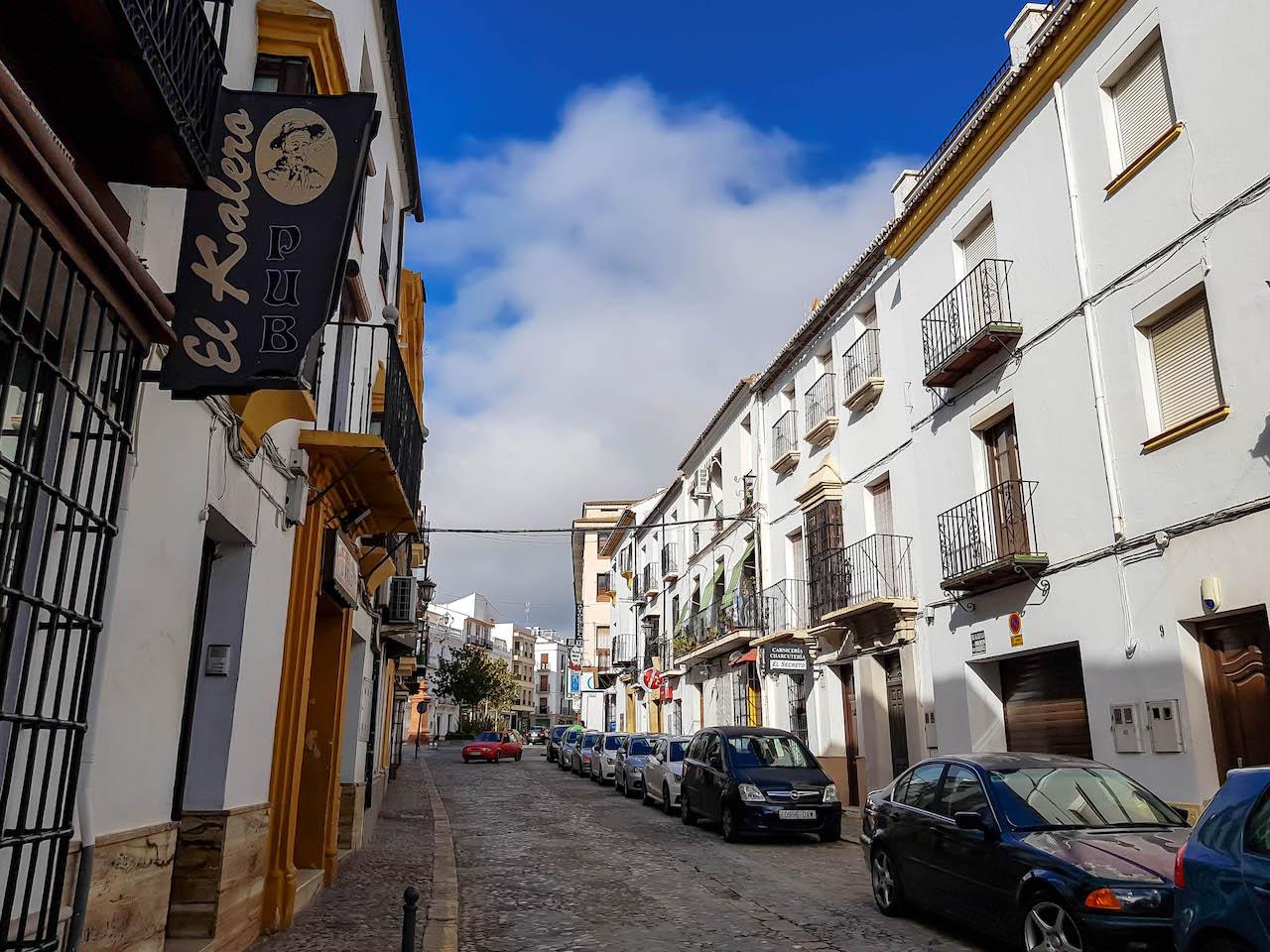 Ronda, Andalusien.