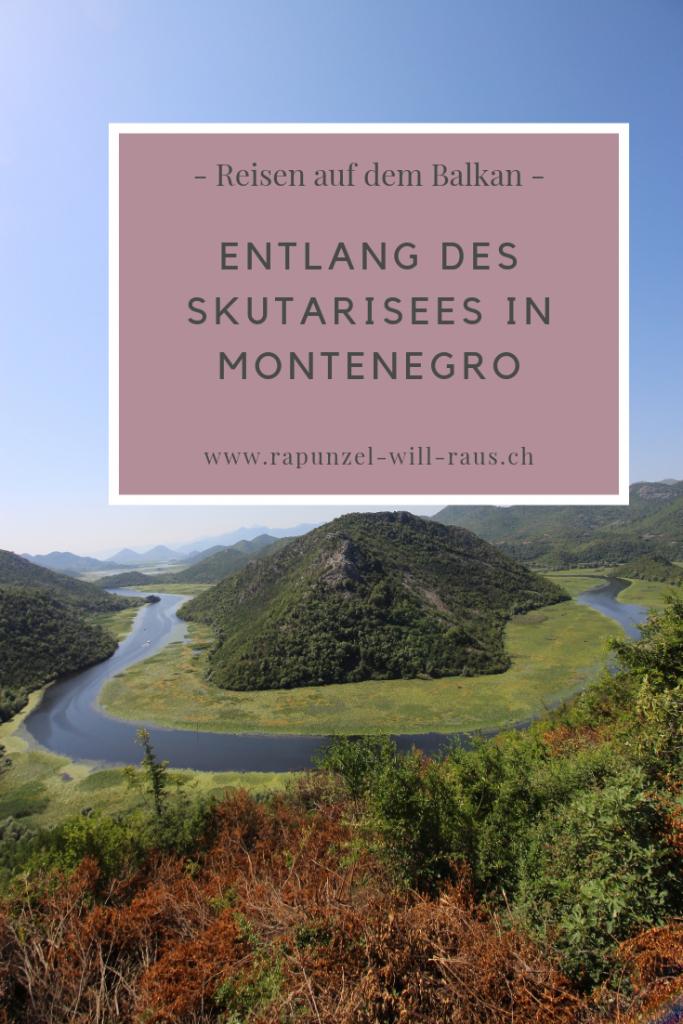Entlang des Skutarisees in Montenegro