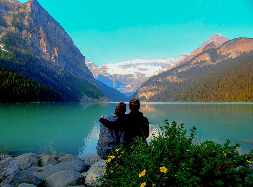 Der berühmte Lake Louise.