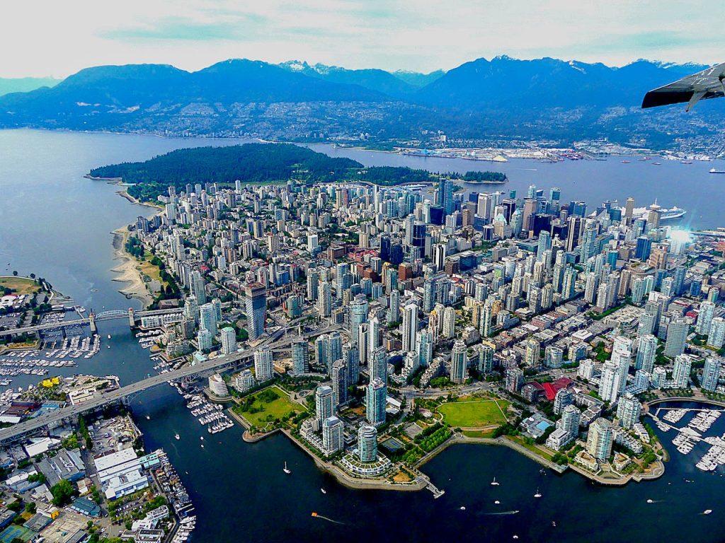 Vancouver von oben.