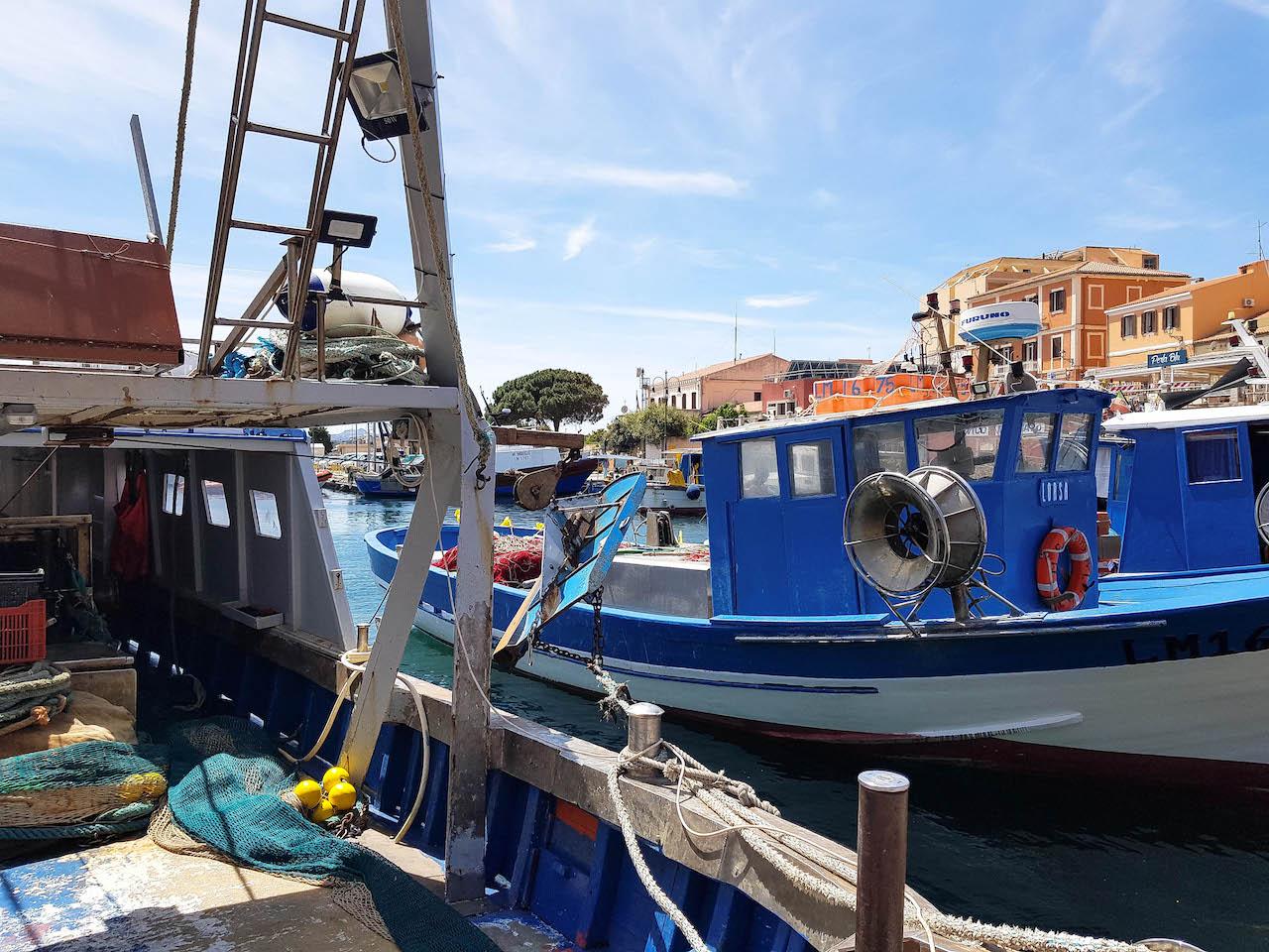 Der Fischerhafen auf La Maddalena.