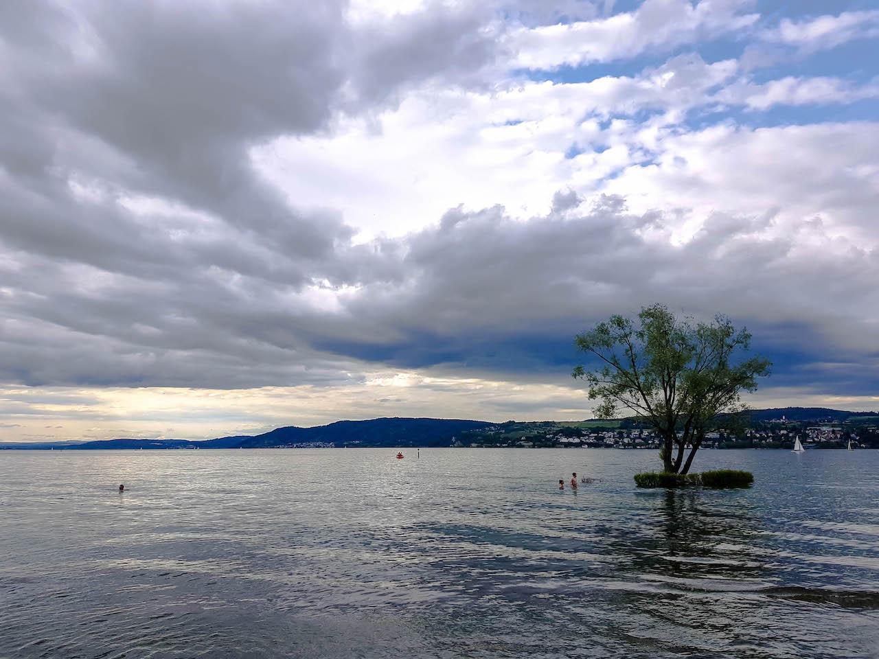 Wetterwechsel am Bodensee.