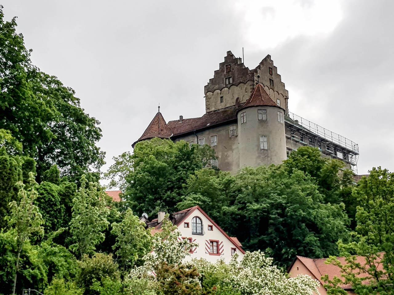 Die Burg von Meersburg.