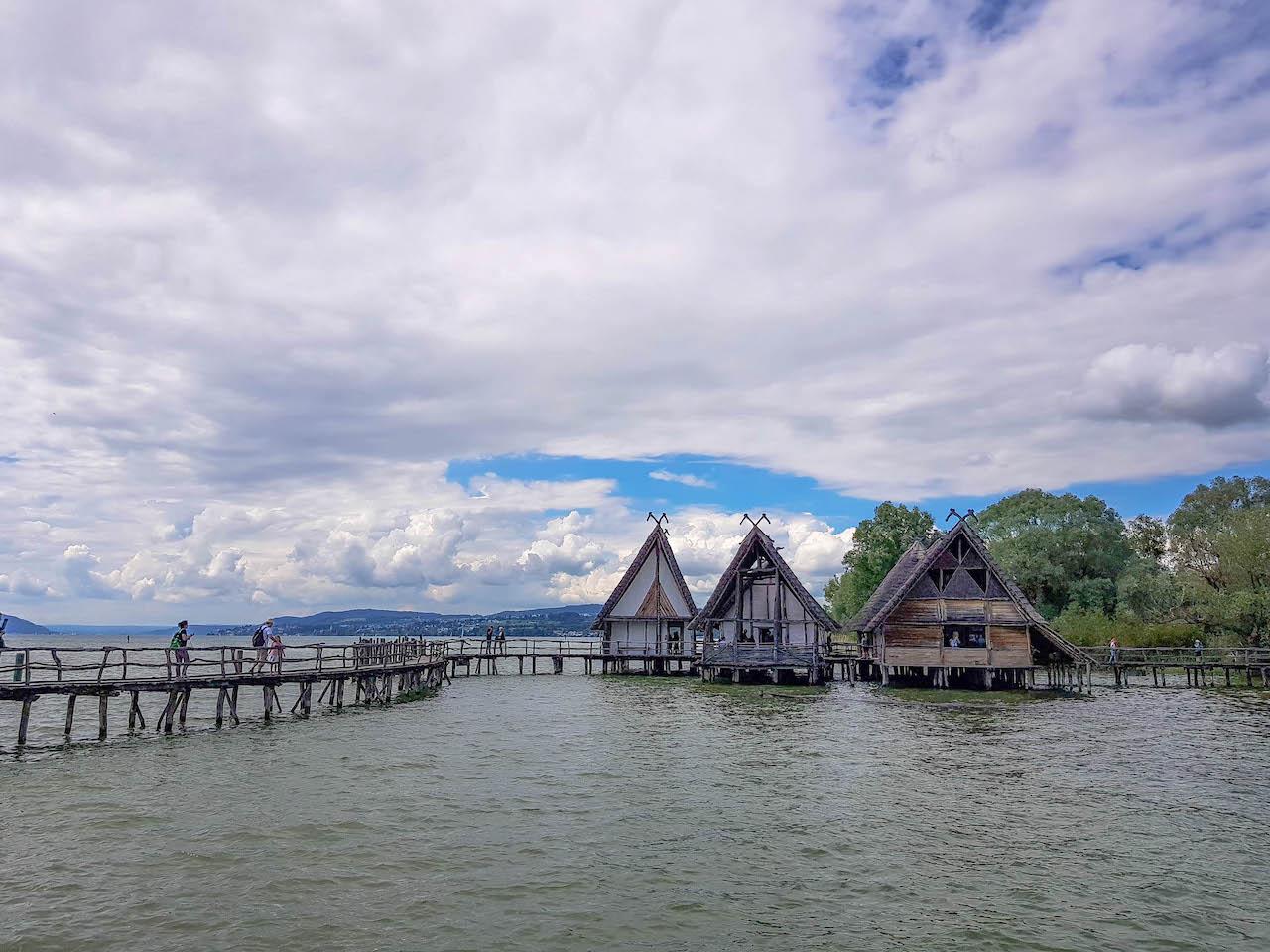 Ein ganzes Dorf auf dem Bodensee!
