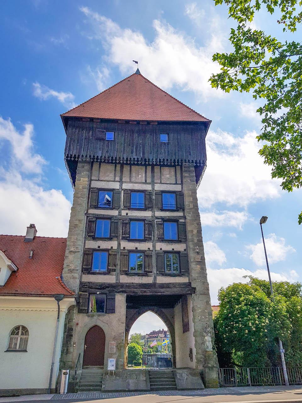 Stadteinsichten in Konstanz.