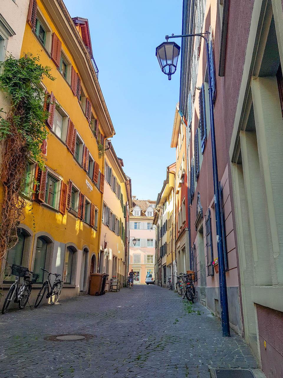 Das Viertel Niederburg in Konstanz.