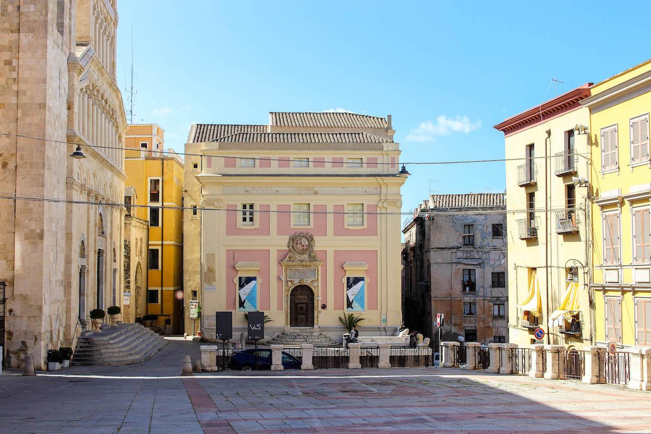 Unterwegs in der Altstadt von Cagliari.