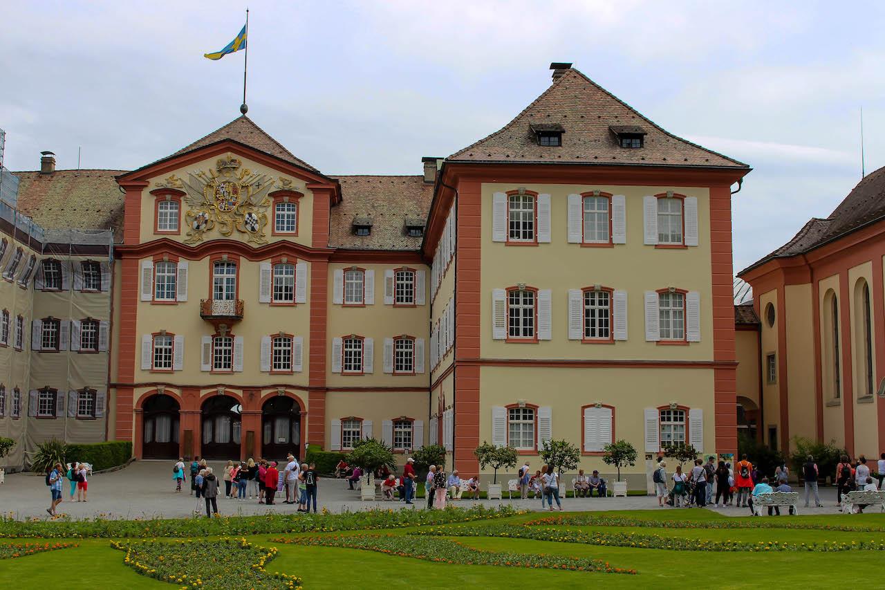 Das Schloss Mainau.