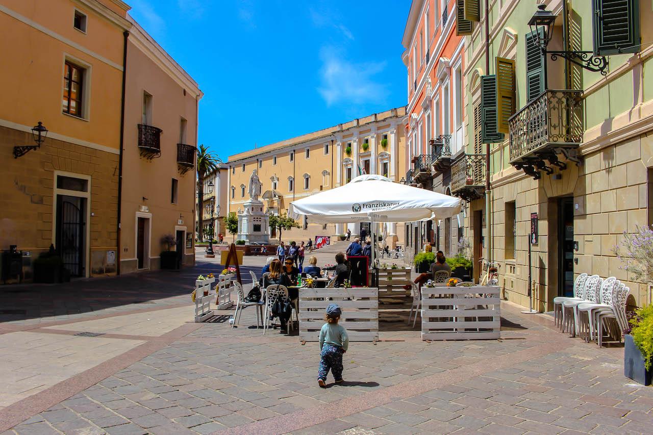 Unterwegs in Oristano, Sardinien.