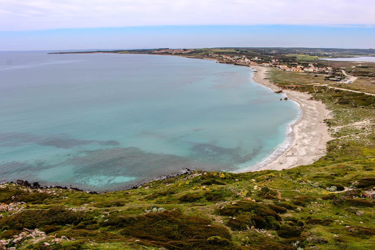 Tharros, Sinis-Halbinsel, Sardinien, Italien.