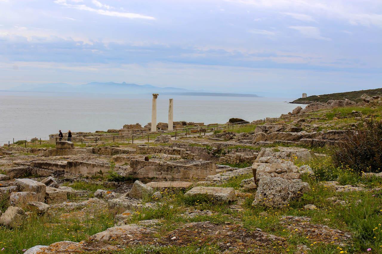 Tharros auf Sardinien.