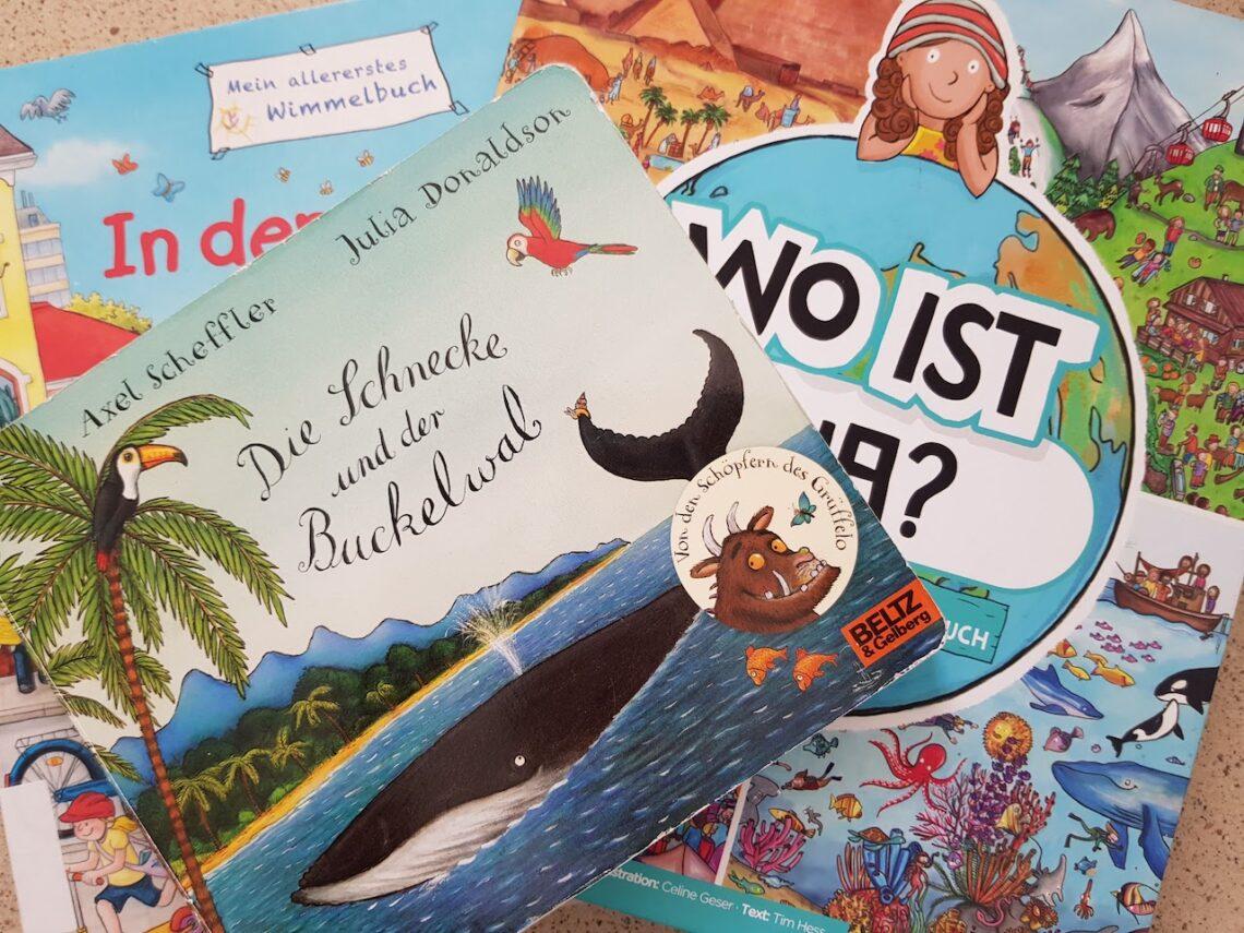 Die schönsten Reisebücher für Kleinkinder