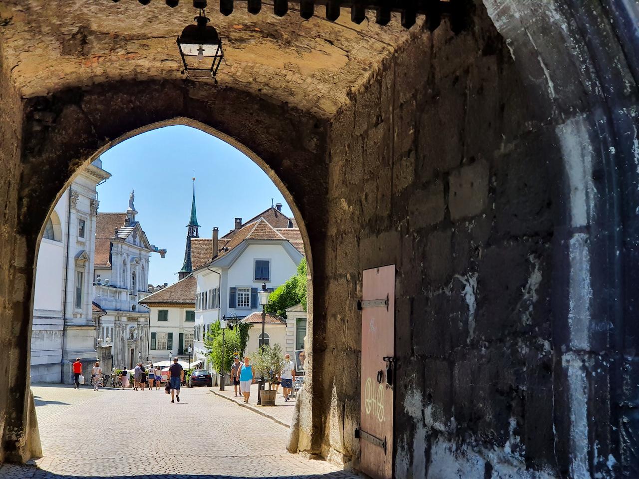 Solothurn: Prunkvoller Barock, hippe Streetart und der schönste Fluss der Welt