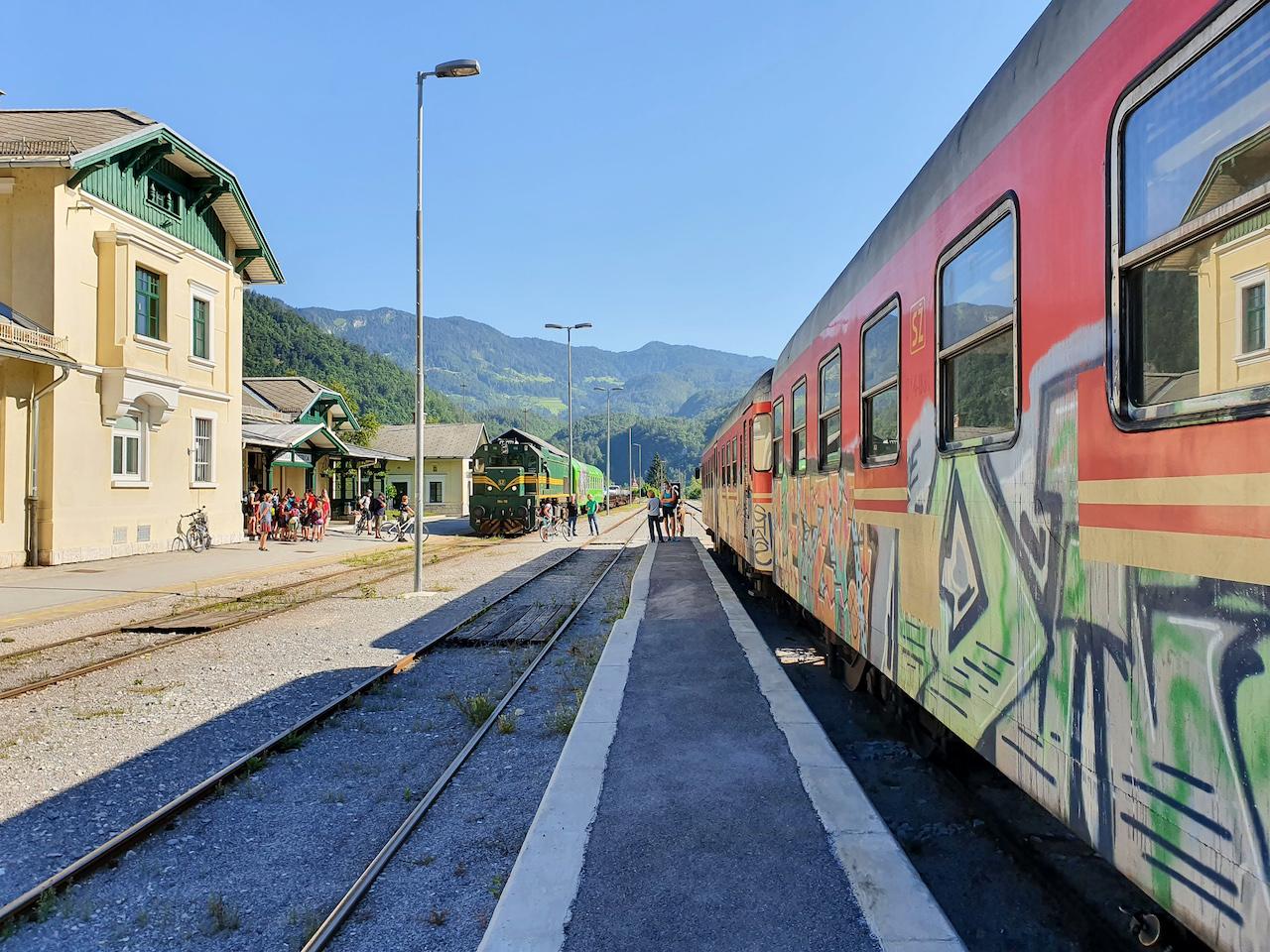 Bohinjska Bistrica, das Tor zum Triglav Nationalpark in Slowenien