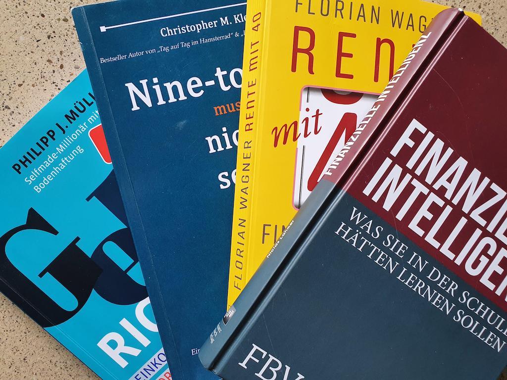 Die besten Bücher für dein Money Mindset